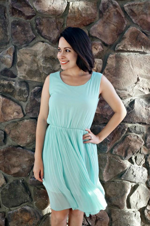 How to wear a dress as a skirt 1