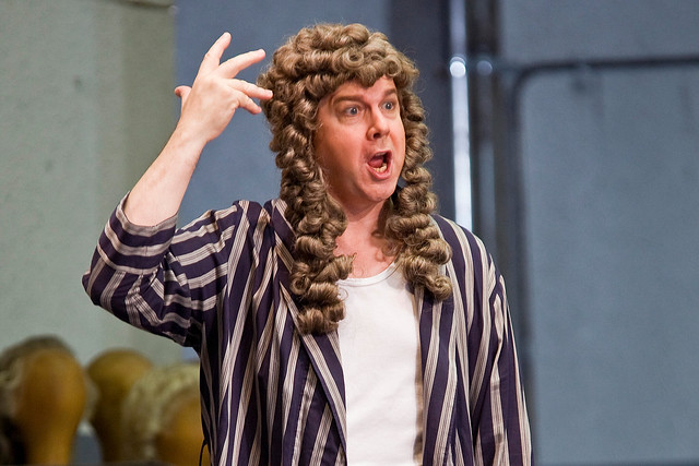 Robert Dean Smith as Tenor / Bacchus in Ariadne auf Naxos, The Royal Opera © ROH / Clive Barda 2008