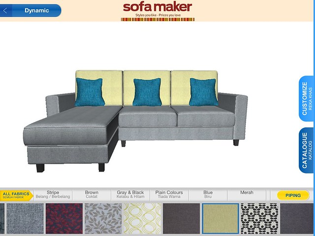 Courts - Sofa Maker Software Screenshot 1