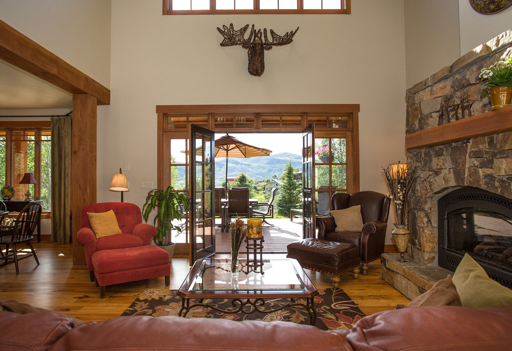 Steamboat mountain area home for sale, views, Emerald mountain