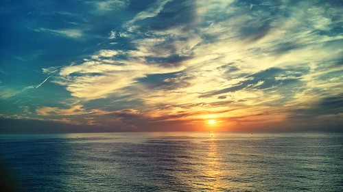 ocean sea sunrise pacific hualien