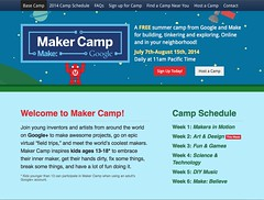MakerCamp Screenshots