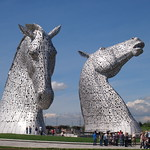 Touring The Kelpies