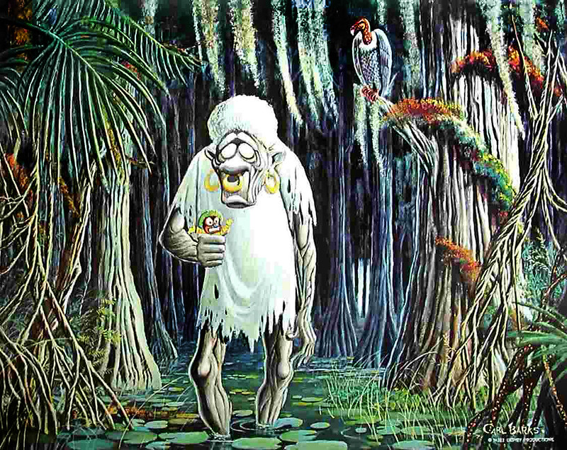 Carl Barks - Bombie The Zombie, 1972