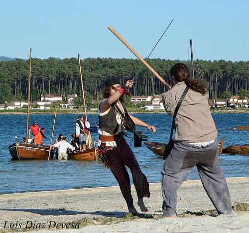 Desembarco Pirata en O Grove