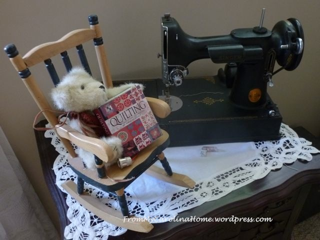 quilting featherweight
