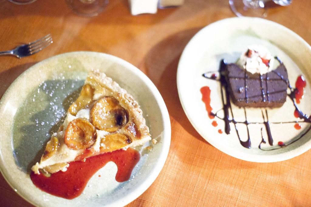 dessert at La Recrée in Provence
