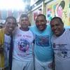Mestres Paulão e Tio Robson no Evento do Mestre Pulga e Professor Bonequinho, em Magé, no mês de junho. Vamos que vamos. #OcupaCapoeira .