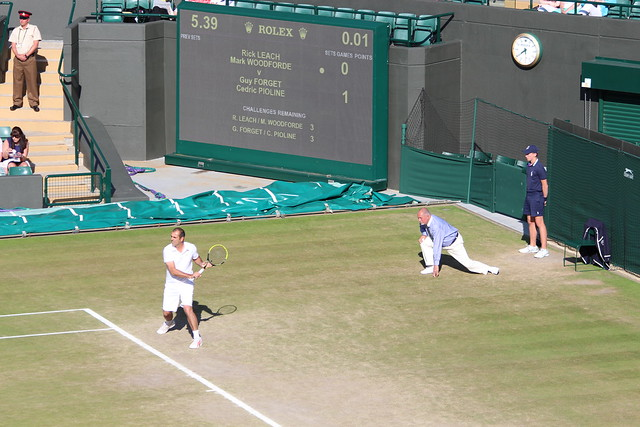 Court 1 on final day of Wimbledon