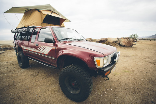Photo7 _ The completed 1990 Toyota Pickup at home in Baja, Mexico _ Photo by Richard Giordano
