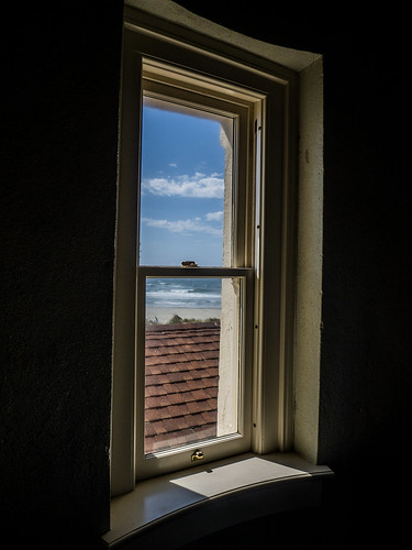 Coquille River Lighthouse Window