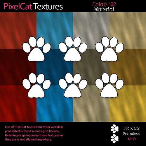 PixelCat Textures - Colab 102 - Material