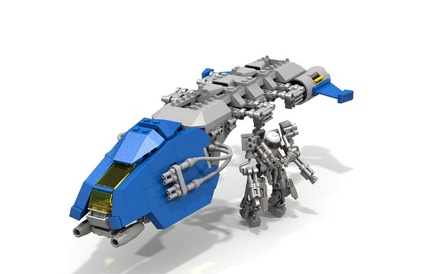 Neo Classic Space Dropship