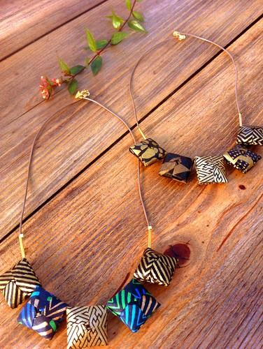 origami-necklaces