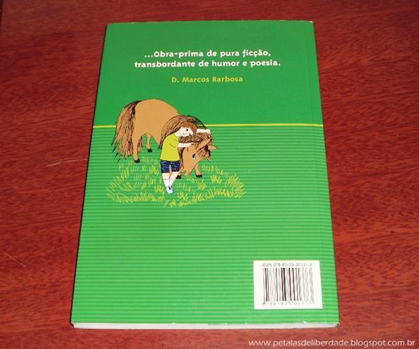 Resenha, livro, O menino do dedo verde, Maurice Druon, infantil, fábula, trechos, contracapa
