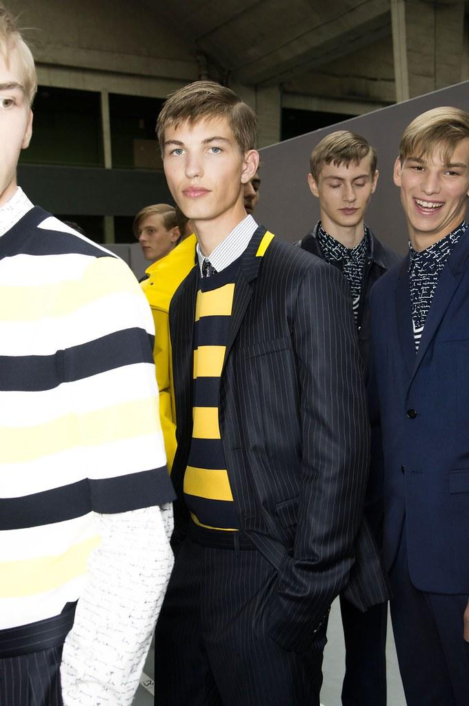 SS15 Paris Dior Homme225_Dominik Sadoch, Kevin Carlbom, Sam Rosewell, Nash Bajart(fashionising.com)