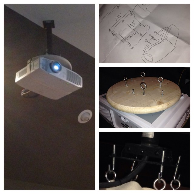 Diy Projector Ceiling Mount