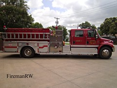 Kaufman, TX FD Engine 3