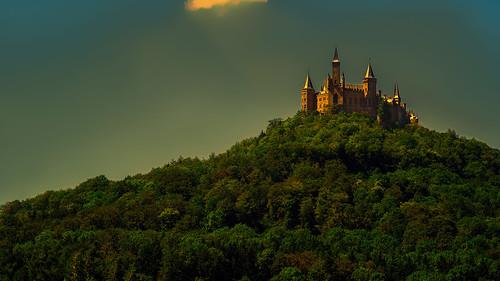 castle 169 türme burg abendstimmung hechingen hohenzollern lichtspiel zoller burghohenzollern rückfahrt kanalmixer goldeneslicht zollerblick farbeersetzen samyang1485 goldenetürme