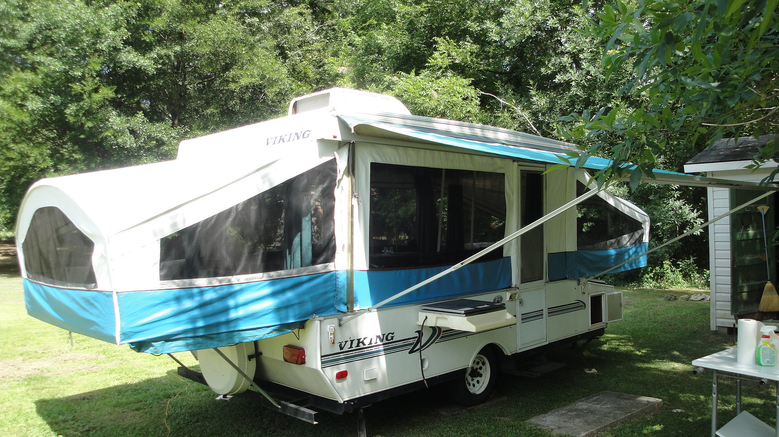 1998 Viking 2460 St Popup Camper Remodel Project Popupportal