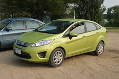 race car(0.0), supermini(0.0), hatchback(0.0), automobile(1.0), vehicle(1.0), ford(1.0), ford fiesta(1.0), sedan(1.0), land vehicle(1.0),