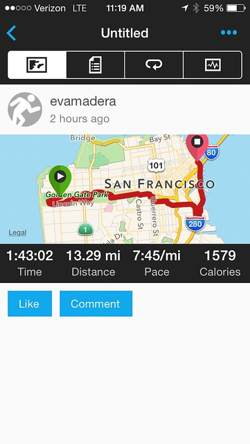 San Francisco Second Half Marathon 2014