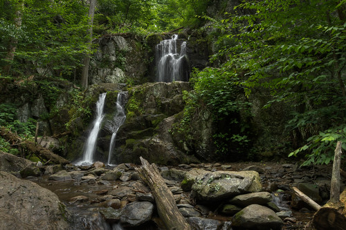 travel vacation nature landscape virginia waterfall nationalpark nikon unitedstates outdoor shenandoah hdr crozet d300 landscapephotography 18200mm photomatix doylesriverfalls brandonmkopp