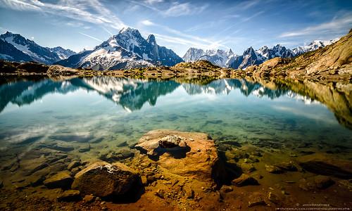 cloud white reflection blanco lago lac reflejo monte midi nuage chamonix reflexion mont bianco blanc reflets nube aiguilles rouges