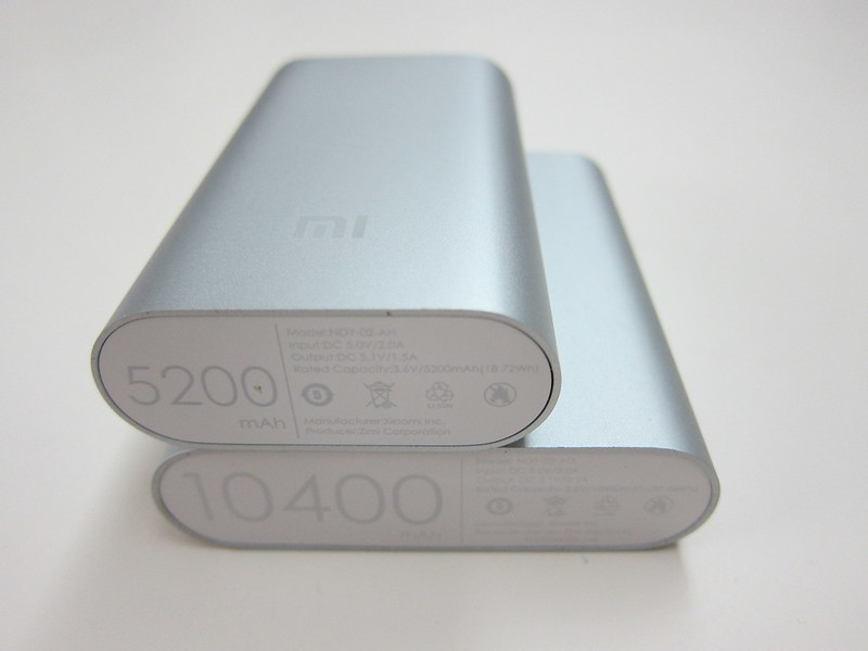Xiaomi Mi 5,200mAh Power Bank - With 10,400mAh