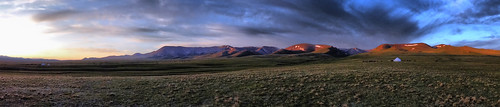sunset mountains sunrise landscapes moody sony panoramic silkroad centralasia kyrgyzstan kirgisistan hx50