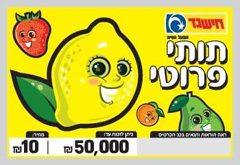 ׳תותי פרוטי׳. נתק מוחלט בין פירות בצבעים בוהקים להימורים.
