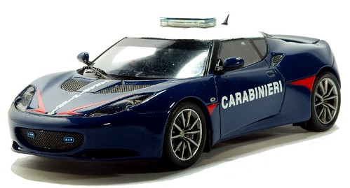Spark Lotus Evora Carabinieri (2)