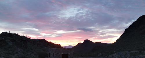 sunrise dawn tucson