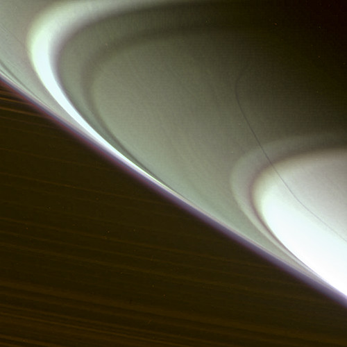 "Saturn south pole - ""track"" N00228250-54-55 (mt2 as red, cb2 as grn, cb1 as blue) - August 19, 2014"