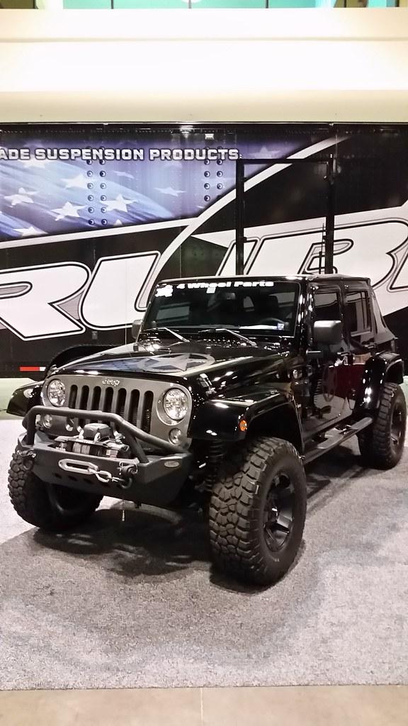 rubicon suspension jeep wrangler | 4 wheel parts truck & jee… | flickr