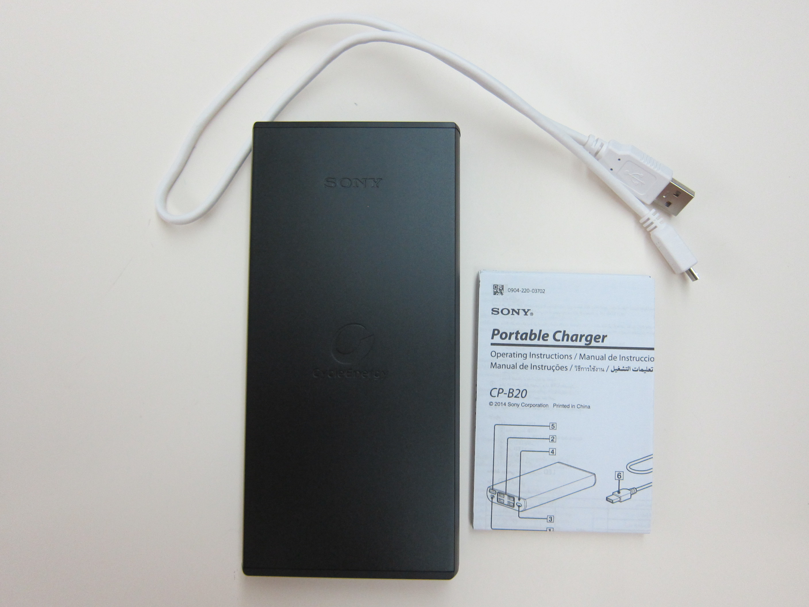 Sony Cp B20 20 000mah Usb Portable Charger 171 Blog