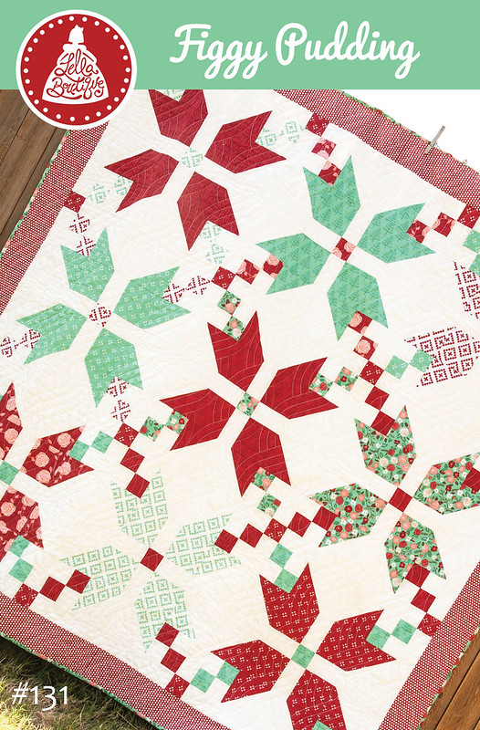 Figgy Pudding quilt pattern