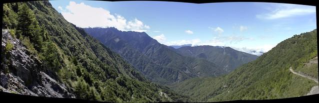 玉山登山步道風景