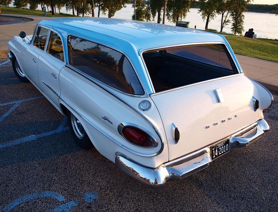 Modified 1961 Dodge Dart Seneca V8 Wagon Bring A Trailer