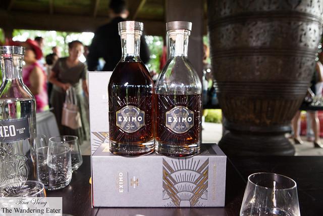 Facundo Bacardi Eximo Rum to taste