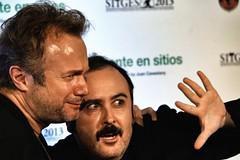 Tristán Ulloa y Carlos Areces