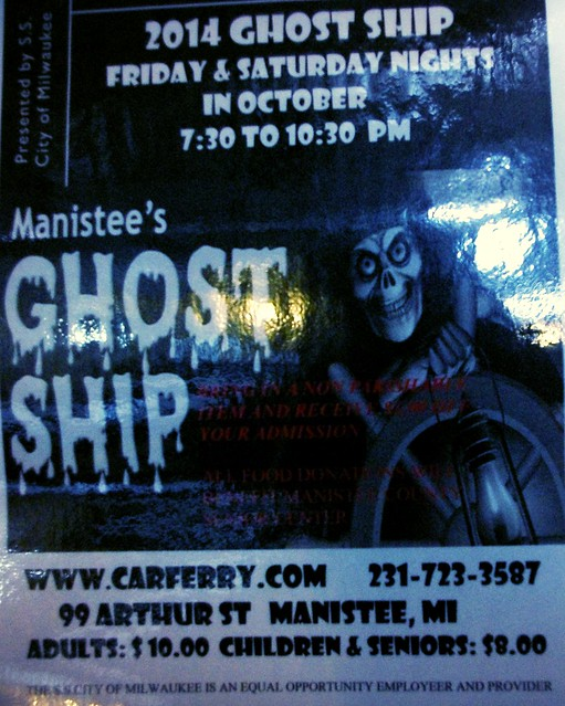 City of Milwaukee ghost ship promotion