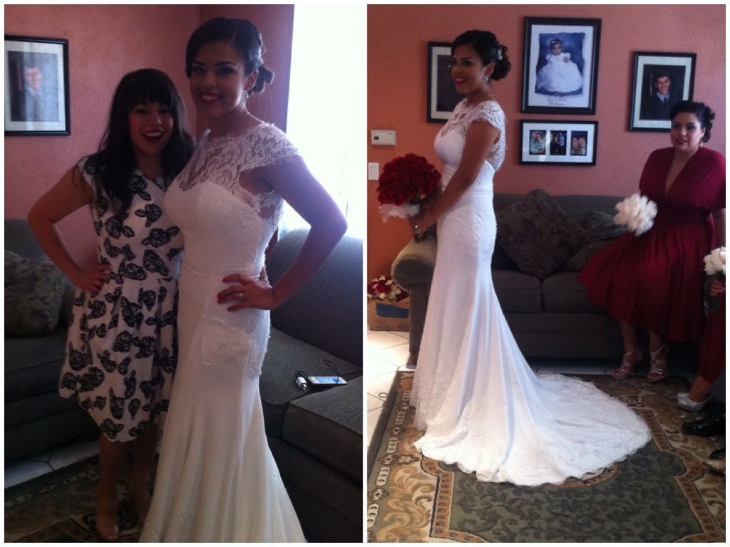 Maricela's wedding day!