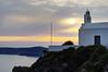 Magic of Santorini sunsets