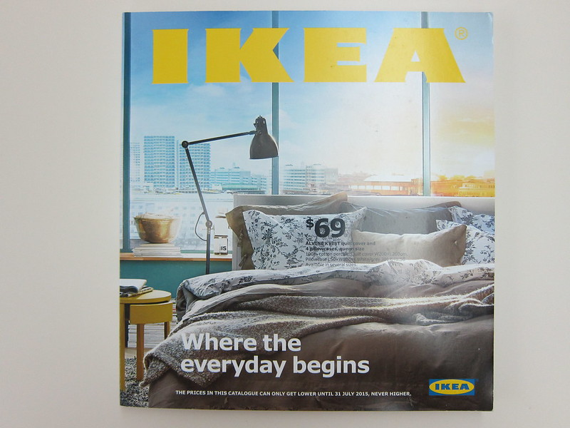 Ikea 2015 Catalogue -  Front