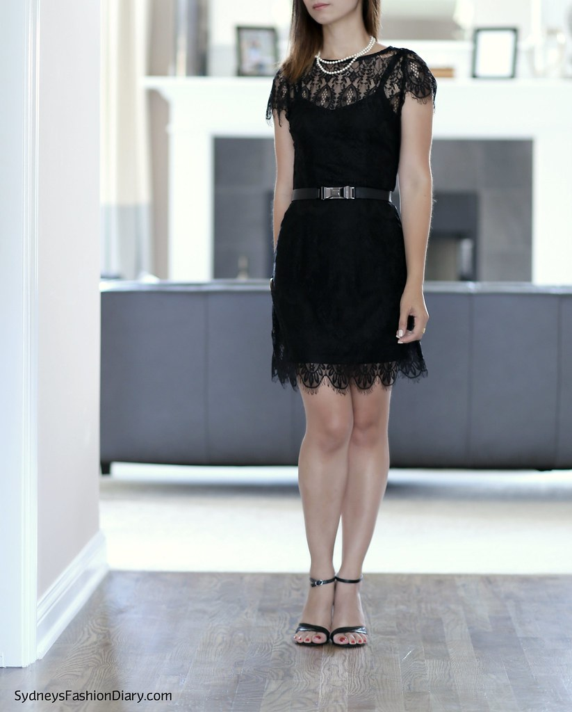 Mink Pink lace dress