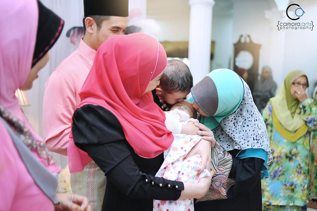 Majlis kesyukuran anak Irma Hasmie