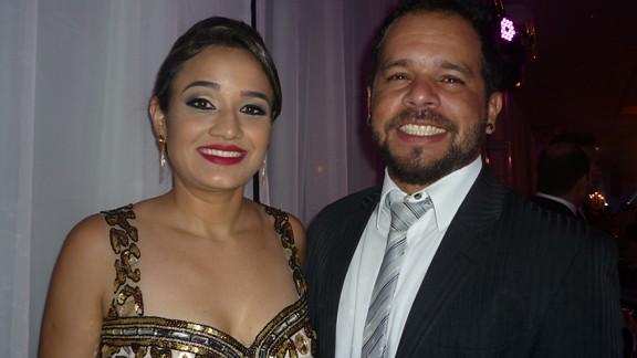 Luciana Alves e Diego Tuma