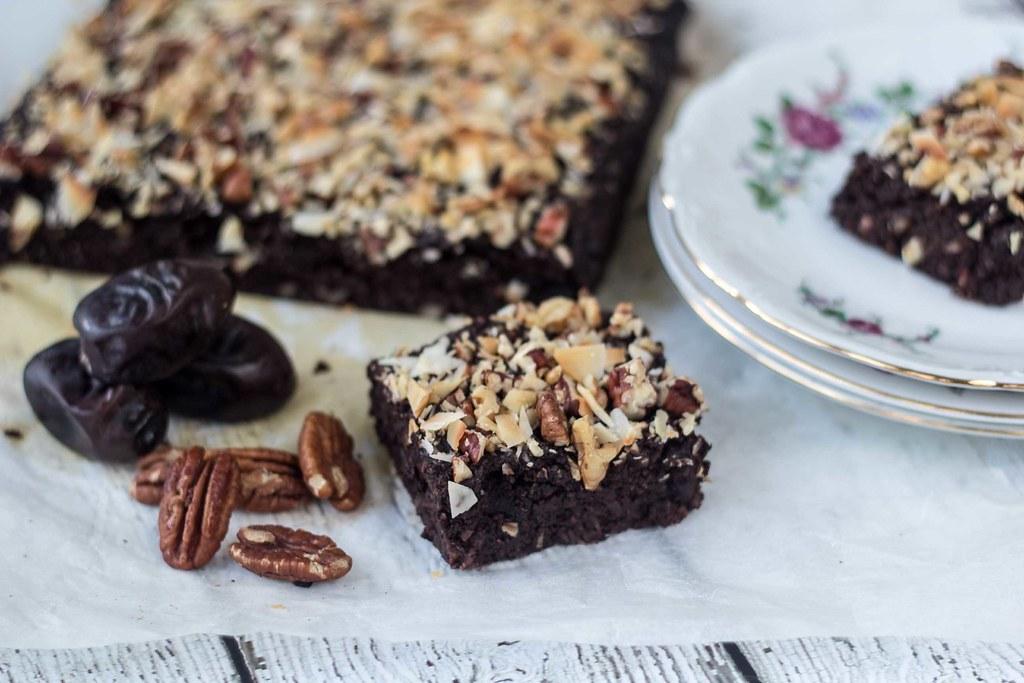 Opskrift på hjemmelavet Sund brownie uden sukker og mel (11)