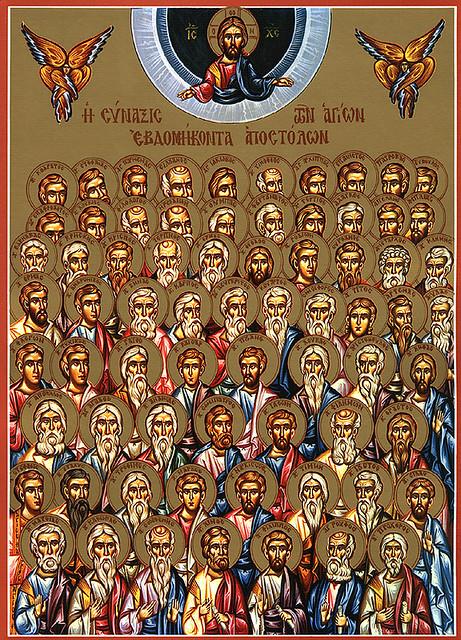 cei 70 Sfinti Apostoli